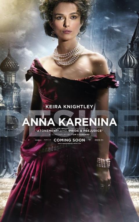 Anna Karenina 2012 Keira Knightley poster 11
