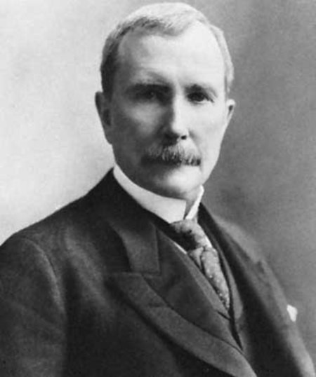 a history of how rockefeller carnegie and morgan organized america and made it industrialized