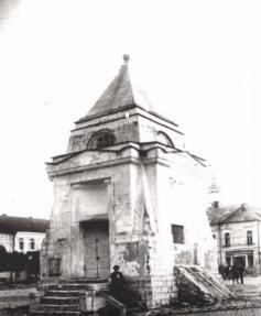 Торжок - храм времён Новгородской Руси (уничтожен в 20-х годах)