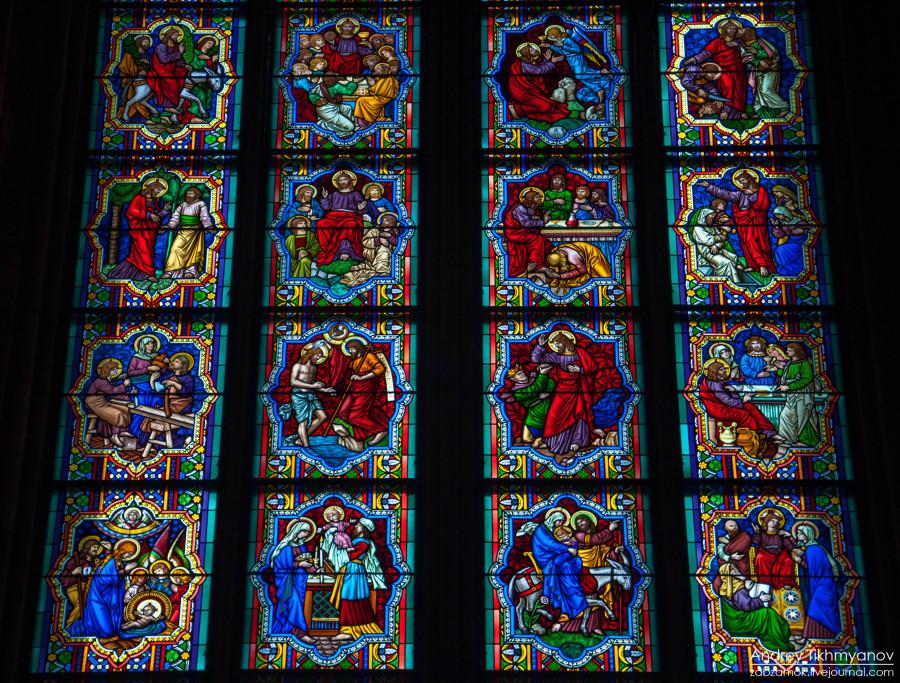 Кельнский собор. Витражи-0785
