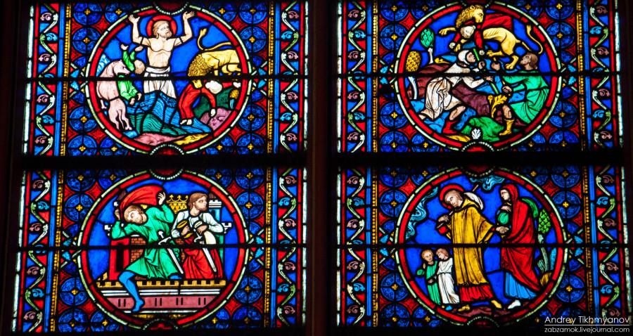 Notre Dame de Paris vitre-0258