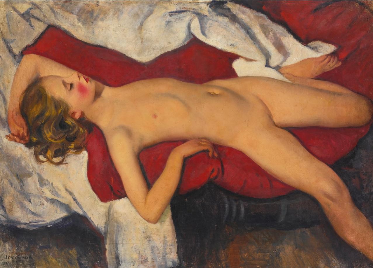 Спящая и голая девочки 2 фотография