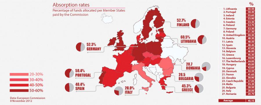 karta EU