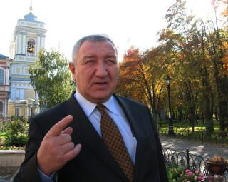 И. Н. Овинцев в Александро-Невской лавре