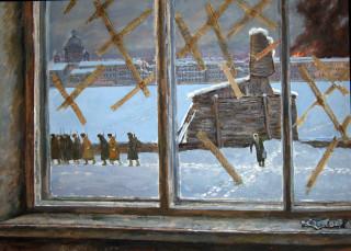 Сфинкс у Академии художеств. Дмитрий Бучкин.