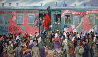 1917-й год. Художник Д.П.Бучкин