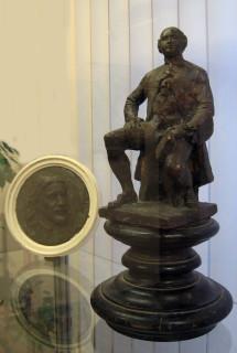 Скульптурные работы Т. А. Малушиной