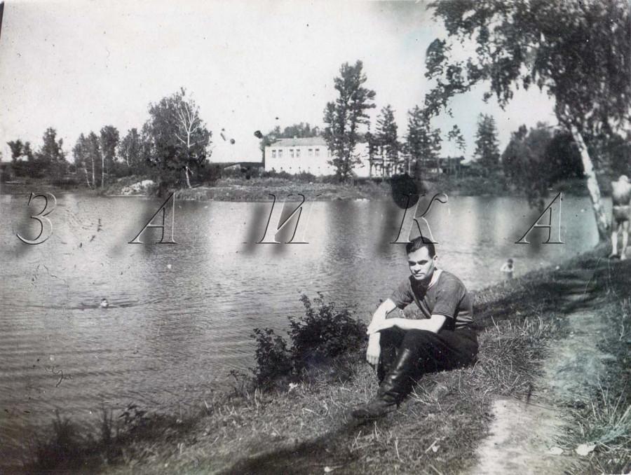 Куликов у пруда остафьево копия