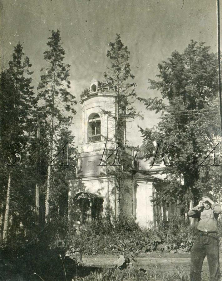 церковь Св троицы остафьево столовая полка копия
