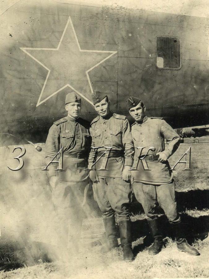 3 бойца у Б-25 копия