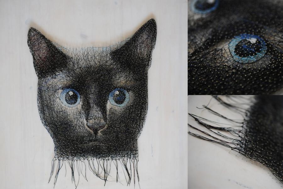 Картина «Кот»