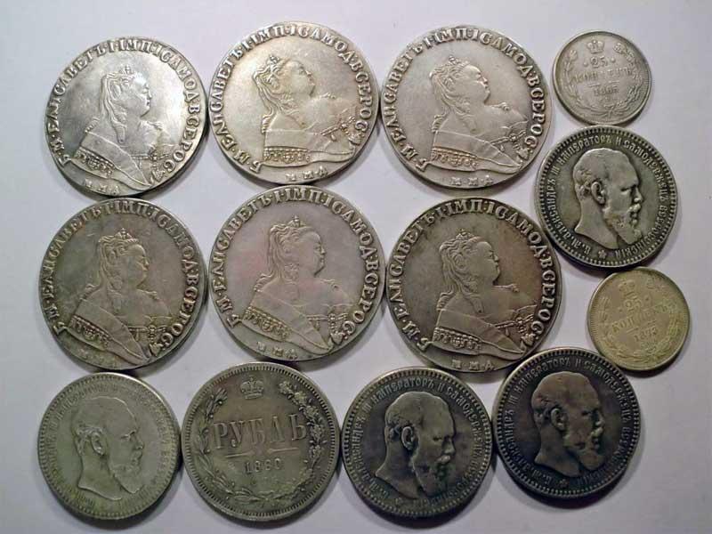 монеты николая 2 монетные дворы