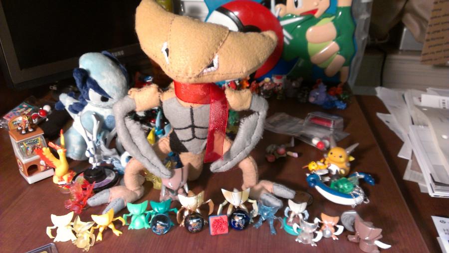 Kabutops collection!