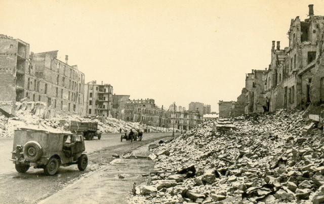 Крещатик осенью 1943 года