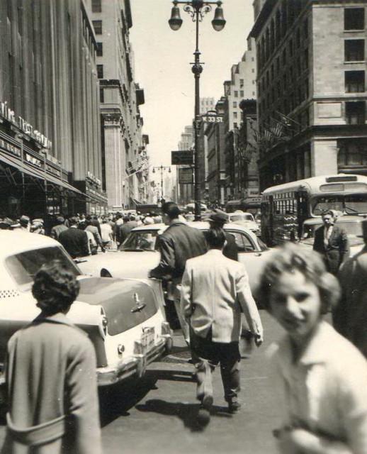 Нью-Йорк. 50-е годы прошлого века - ...пиши поперек...
