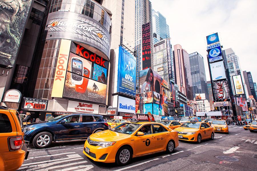 фотограф в Нью-Йорке