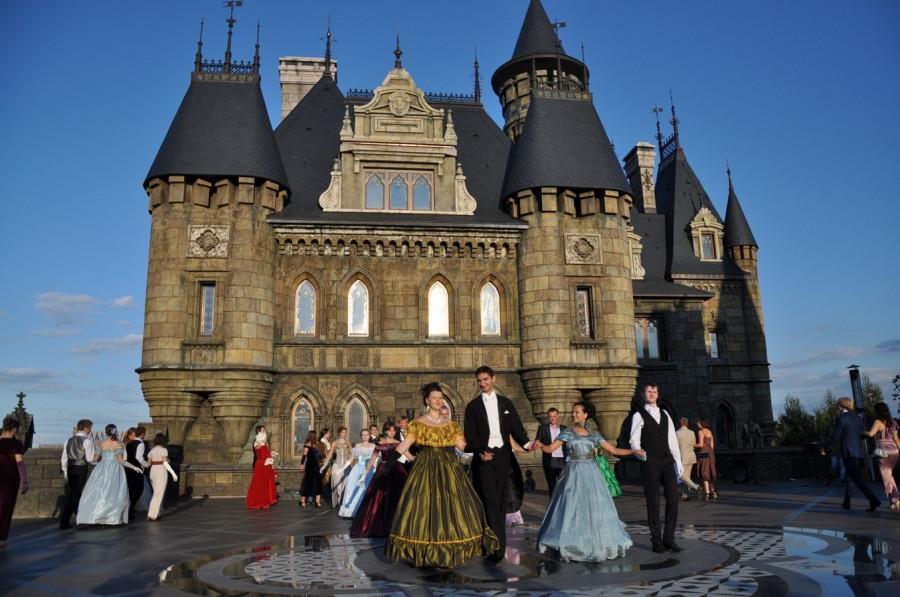 бал карнавал замок гарибальди