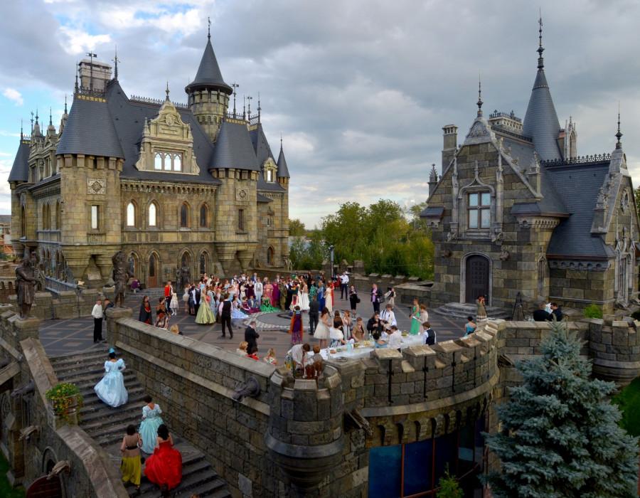 замок Гарибальди Хрящевка туристический потенциал Тольятти