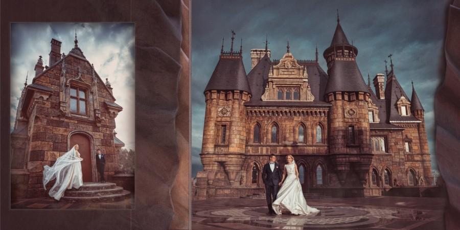 Замок Гарибальди фотосессия свадьба