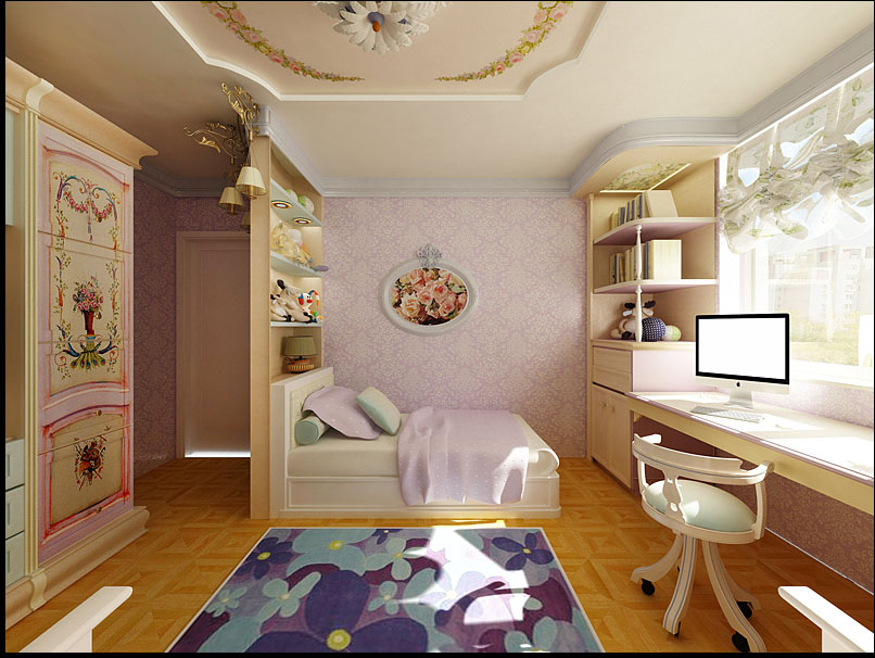 Дизайн комнаты дом п44