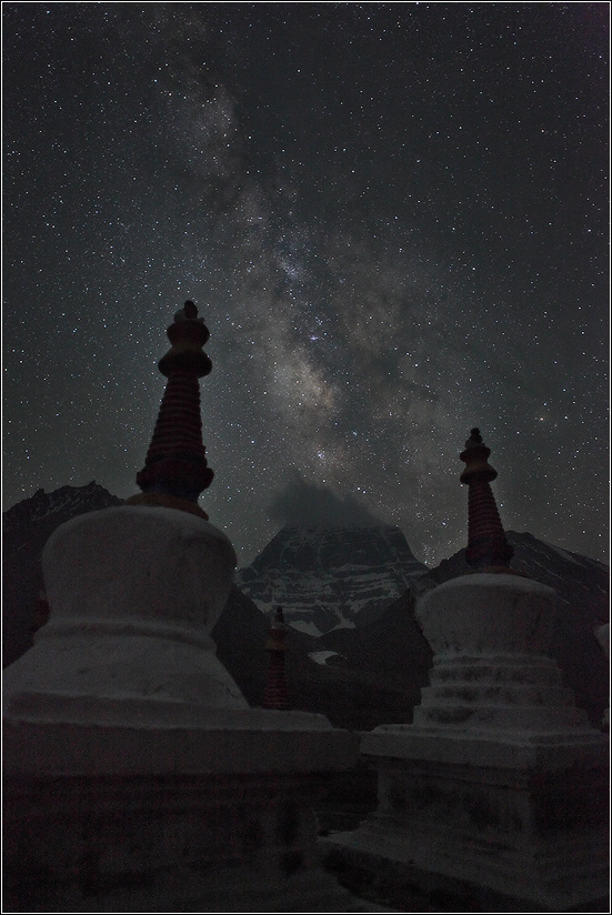 Кайлас - Млечный Путь: слияние...
