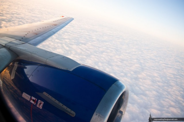 Облачное утро над Толмачёво