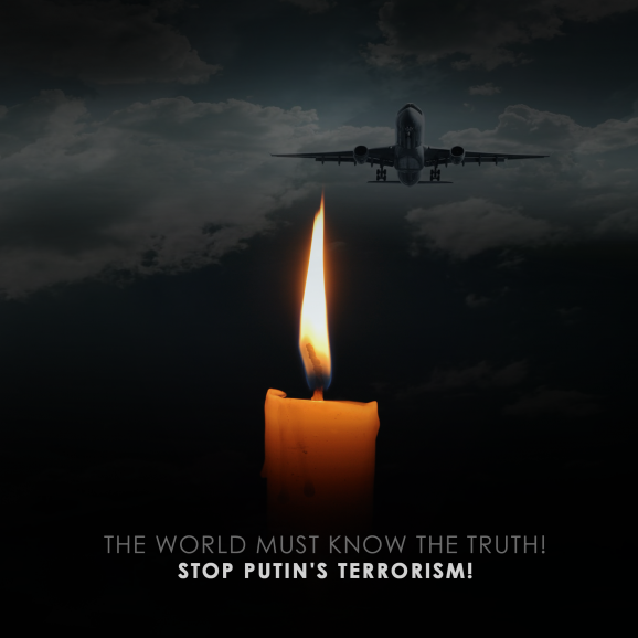 STOP PUTIN'S TERRORISM!