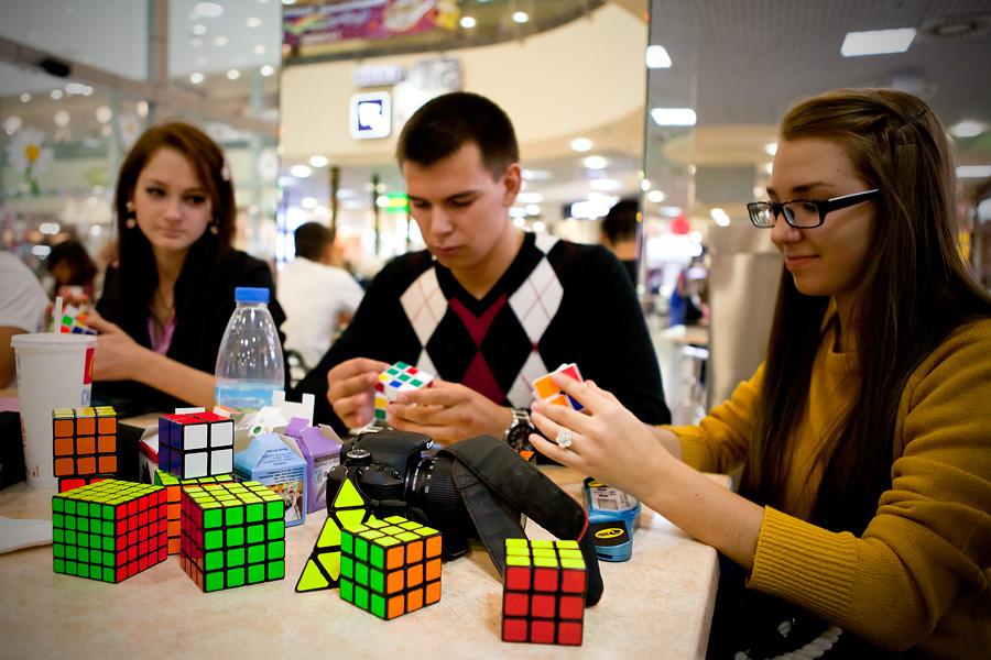 Появление кубика Рубика