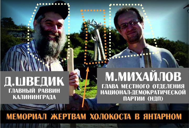 Максим Михайлов - глава ячейки НДП в Кёнигсберге