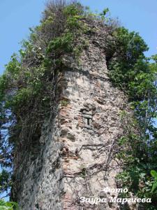 17. Башня церкви в г. Кемал паша возле Батуми на территории Турции. Древниие Макриалы.