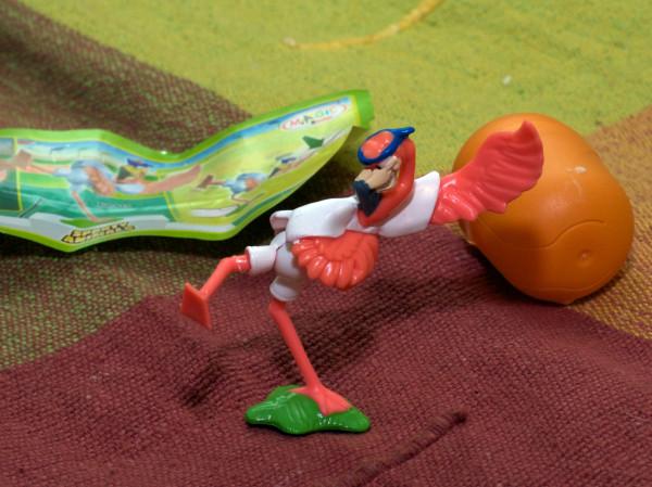 Фламинго каратист