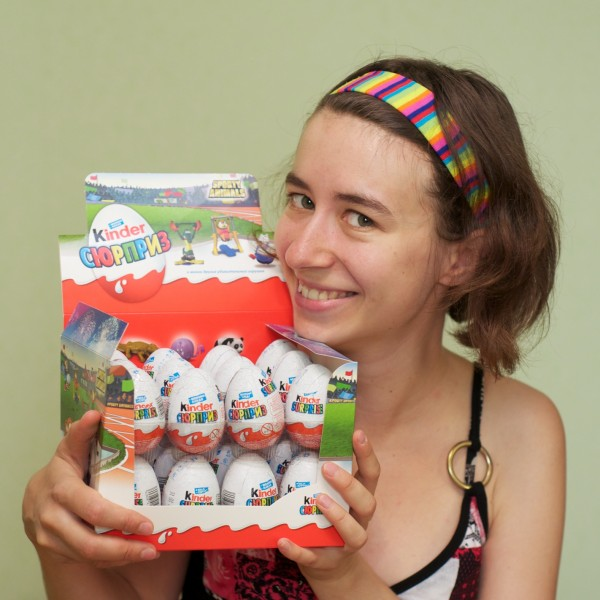 Марина и коробка яиц