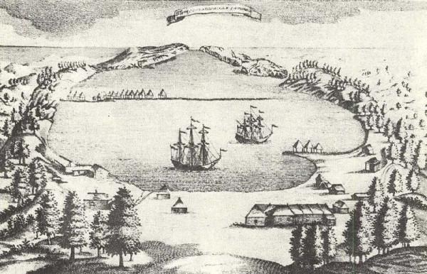 1 Гравюра Петропавловска, XVIII век