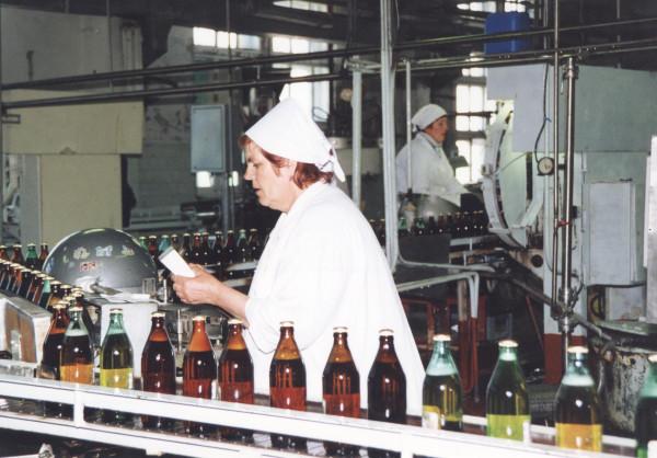 60 Завод Камчатское пиво. Розлив пива