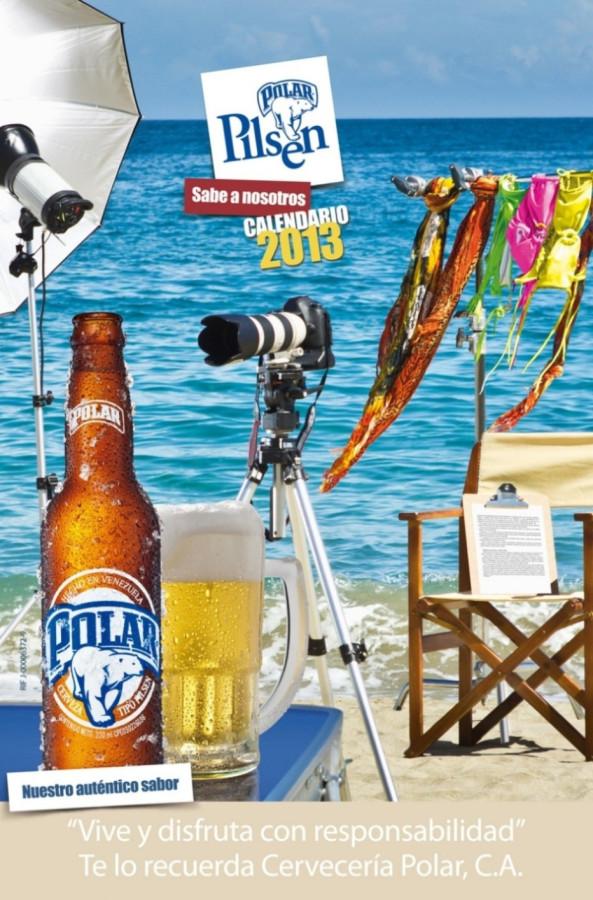 0 Обложка календаря Chicas Polar Pilsen 2013.