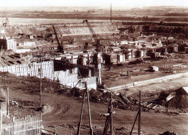10 Стройка Камской ГЭС. 1952 г.