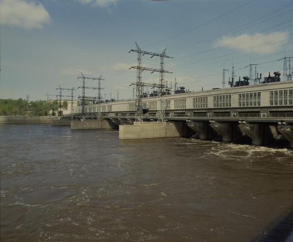 17 Камская ГЭС-1990-е годы