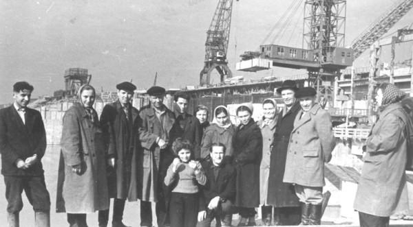 13 1960г. Строители ГЭС