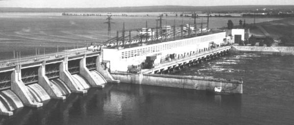 15 1961г. Панорама на Воткинскую ГЭС