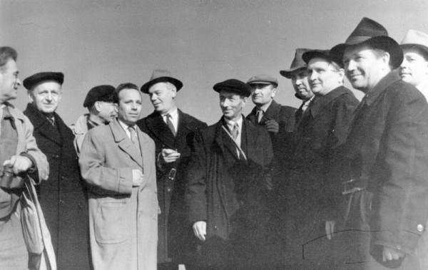 16 1962г. Группа руководителей и специалистов Воткинской ГЭС