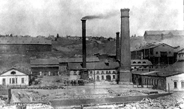 1 1907 г. Чугуноплавильный и железоделательный завод