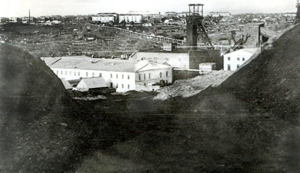 5 1980-е Вид на шахту