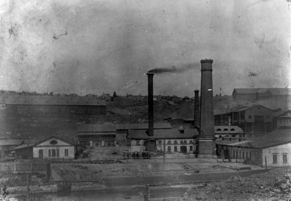 1 начало XX века Сталеплавильный завод