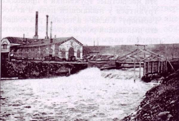 1 Плотина Добрянского завода
