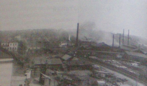 4 Добрянский завод в 1940-х годах.