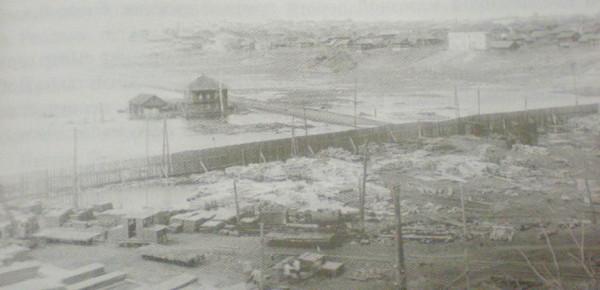 6 Затопление территории бывшего Добрянского металлургического завода. 1950-е годы.