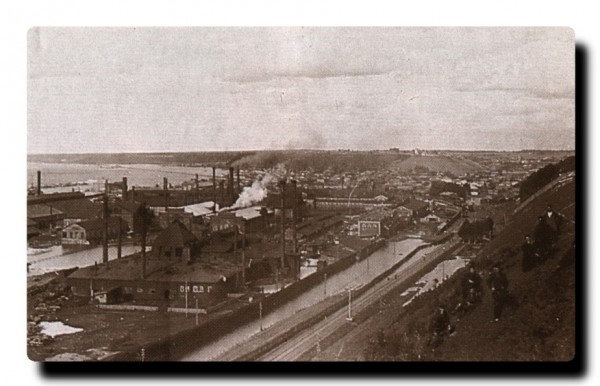 9 Панорама Мотовилихинского завода. Начало XX в.