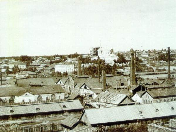 7 Вид Добрянского завода с юго-западной стороны