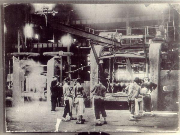 9 В листовом цехе Добрянского завода