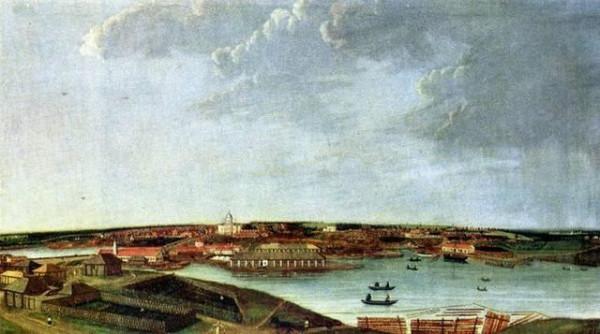 3 Вид Чёрмозского завода. Картина художника Ивана Николаевича Полякова 1837г.